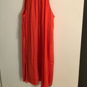 Naked Zebra Dresses - Orange cocktail dress